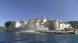 Korčula is an island in the Adriatic Sea, in the Dubrovnik-Neretva...