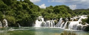 Krka is a river in Croatia's Dalmatia region, noted for its numerous waterfalls. It is 73 km (45 mi)...