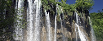 Plitvice Lakes National Park is the oldest national park in Southeast...