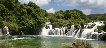 Krka is a river in Croatia's Dalmatia region, noted for its numerous...