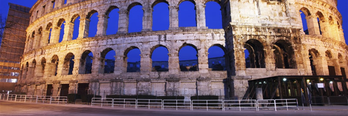 Pula is the largest city in Istria County, Croatia, situated at the southern tip of the Istria...