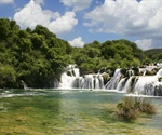 Krka is a river in Croatia's Dalmatia region, noted for its numerous waterfalls....