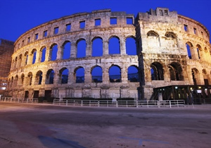 Pula is the largest city in Istria County, Croatia, situated at the southern tip of the...
