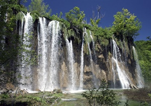 Plitvice Lakes National Park is the oldest national park in Southeast Europe and the...